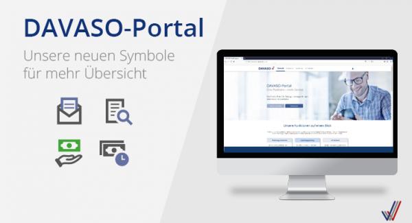 DAVASO-Portal Status-Symbole